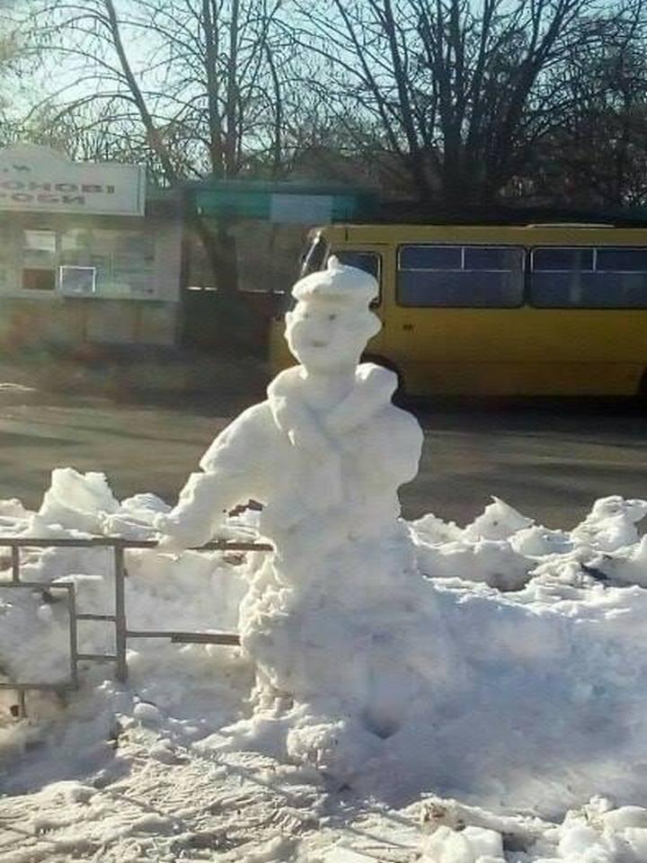 Человек из снега