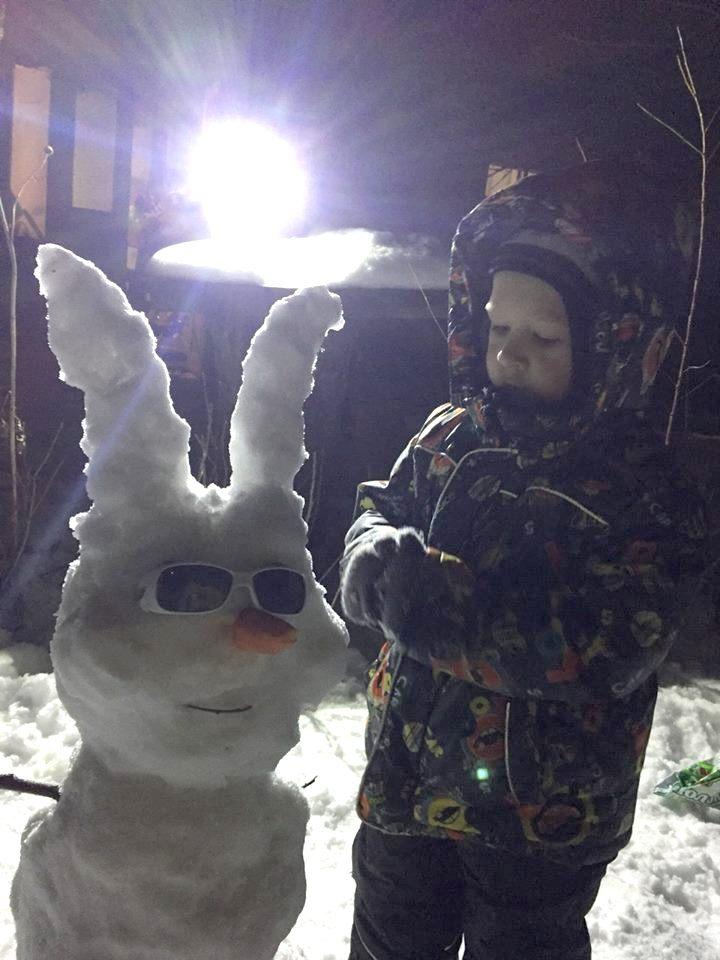Снежный заяц