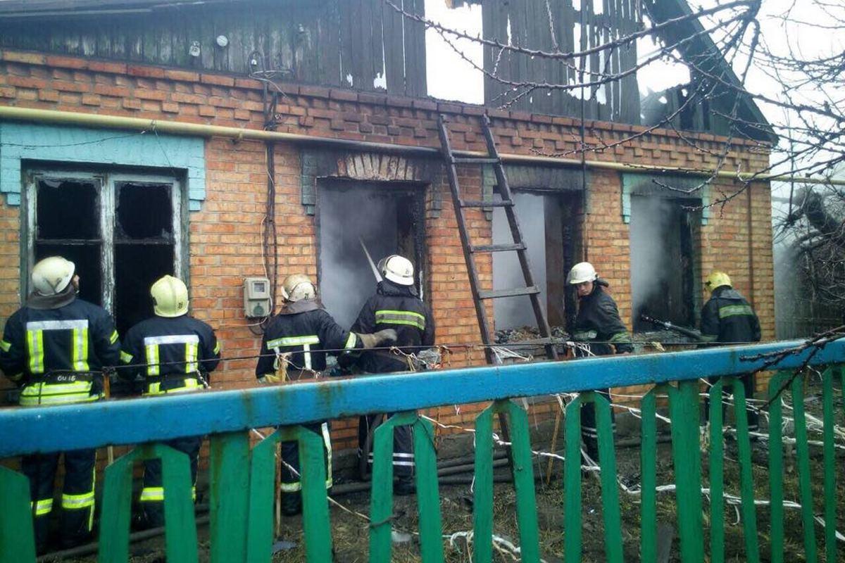 Пожар на улице Вольвача