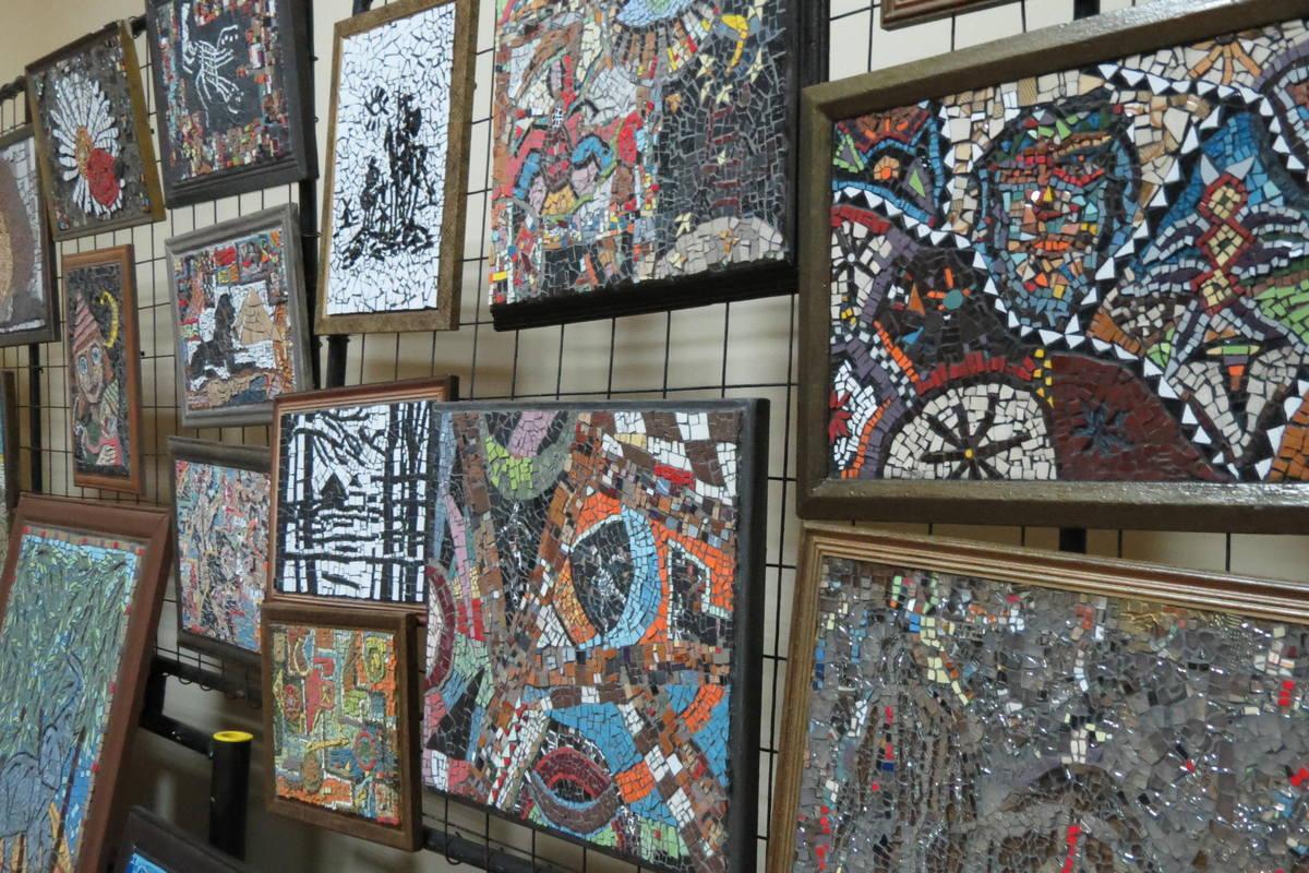 Картины из мозаики