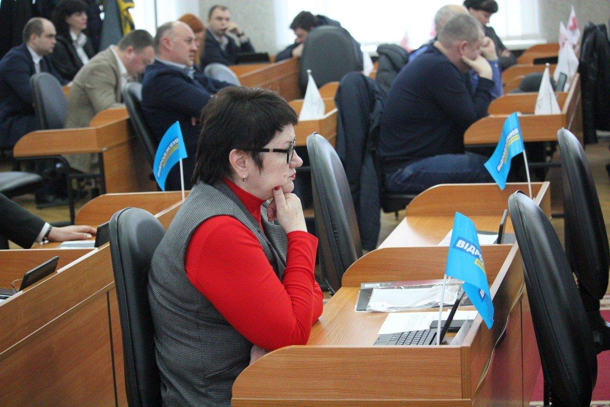 Депутат горсовета Надежда Бредихина