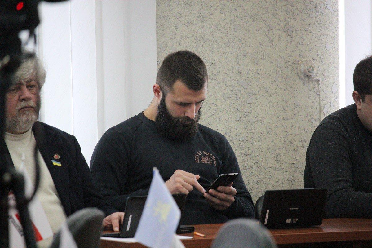 Депутат горсовета Дмитрий Осыка