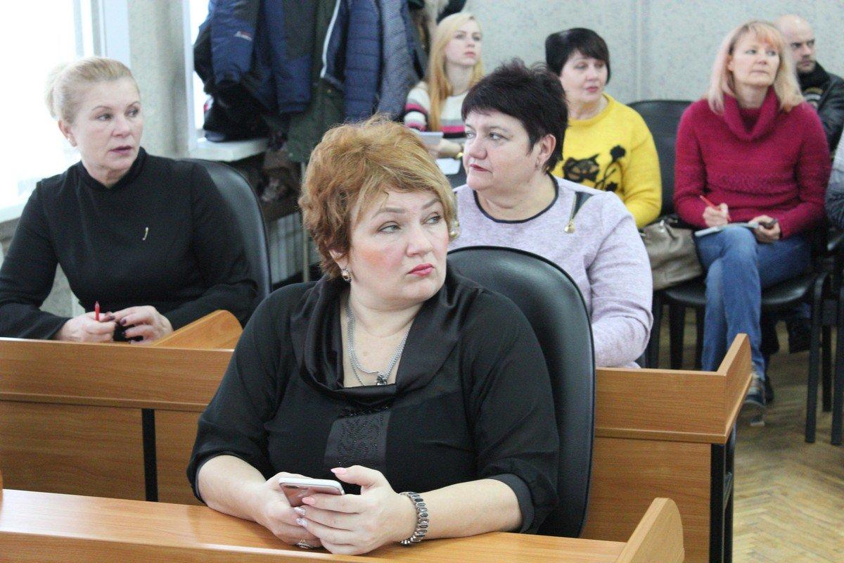 Заместитель городского головы Ольга Коник