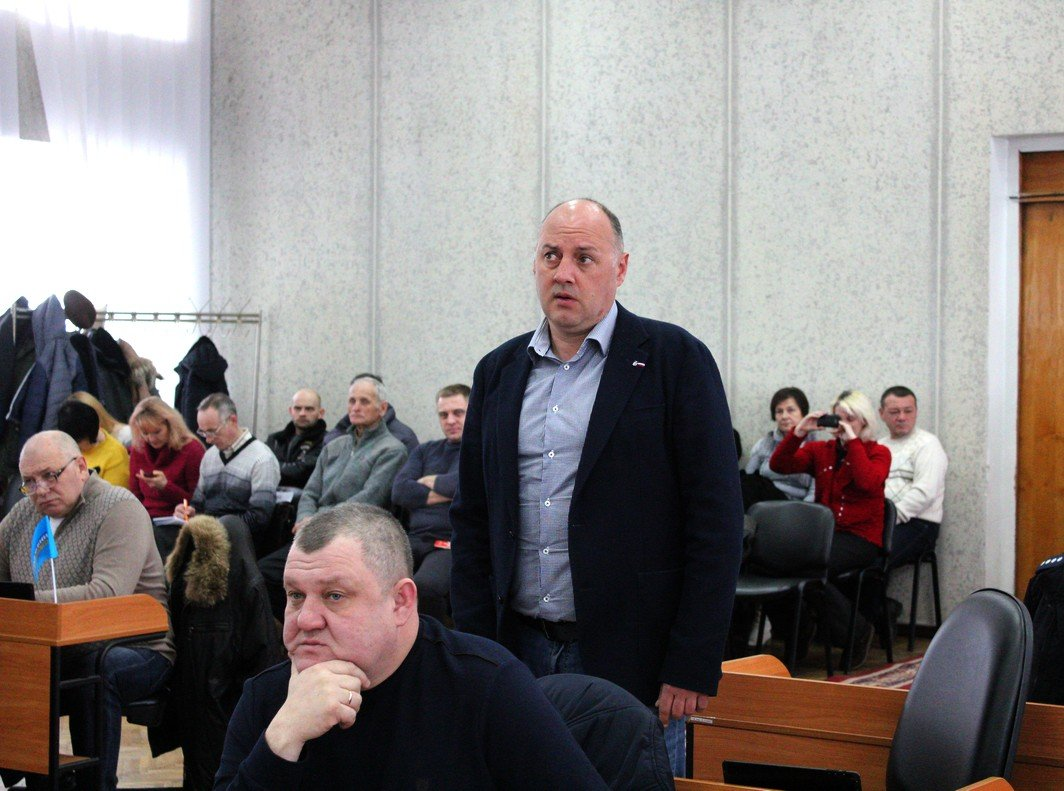 Депутат горсовета Вадим Колесник