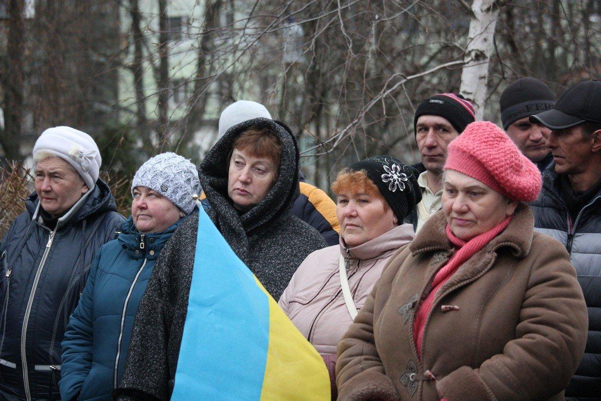 Жители сел Никопольского района