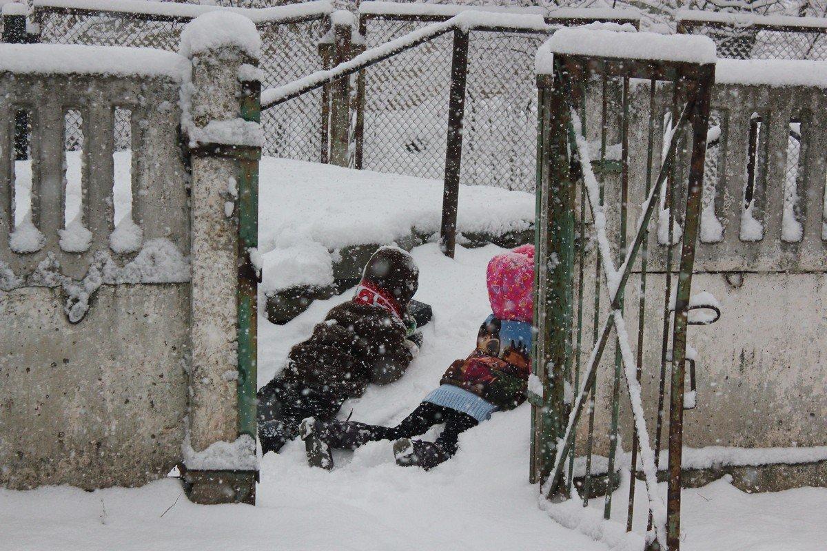 Дети в засаде