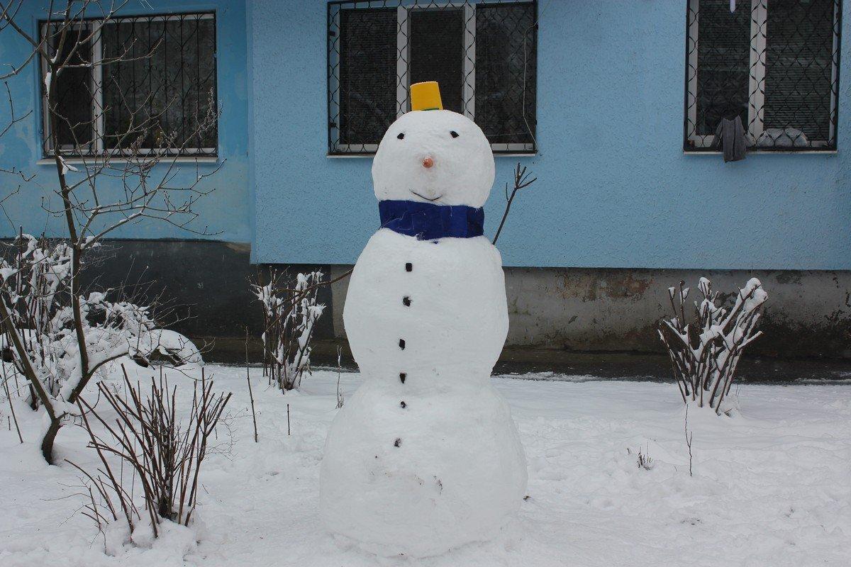 Интеллигентный снеговик