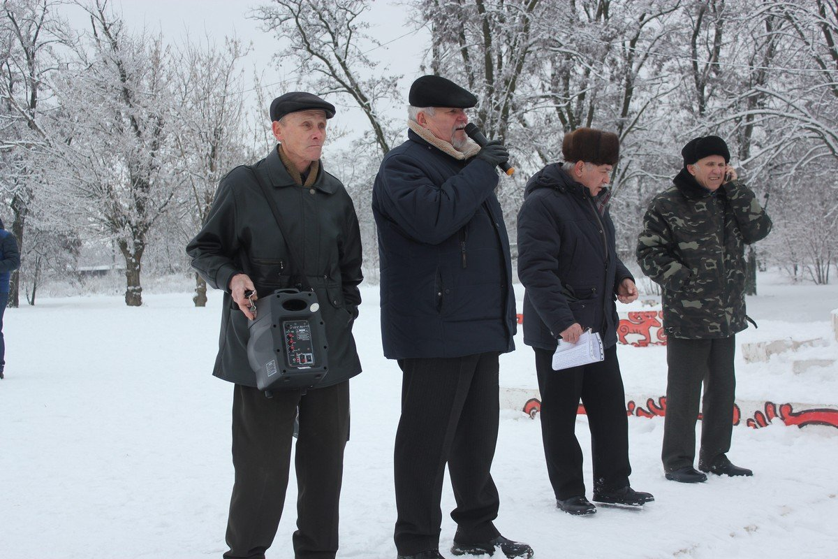 На митинг в Киев поехали представители района