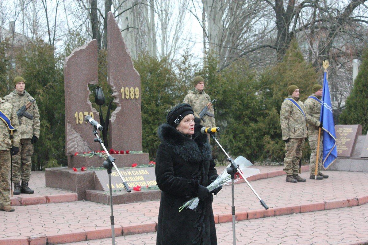 Мать погибшего афганца