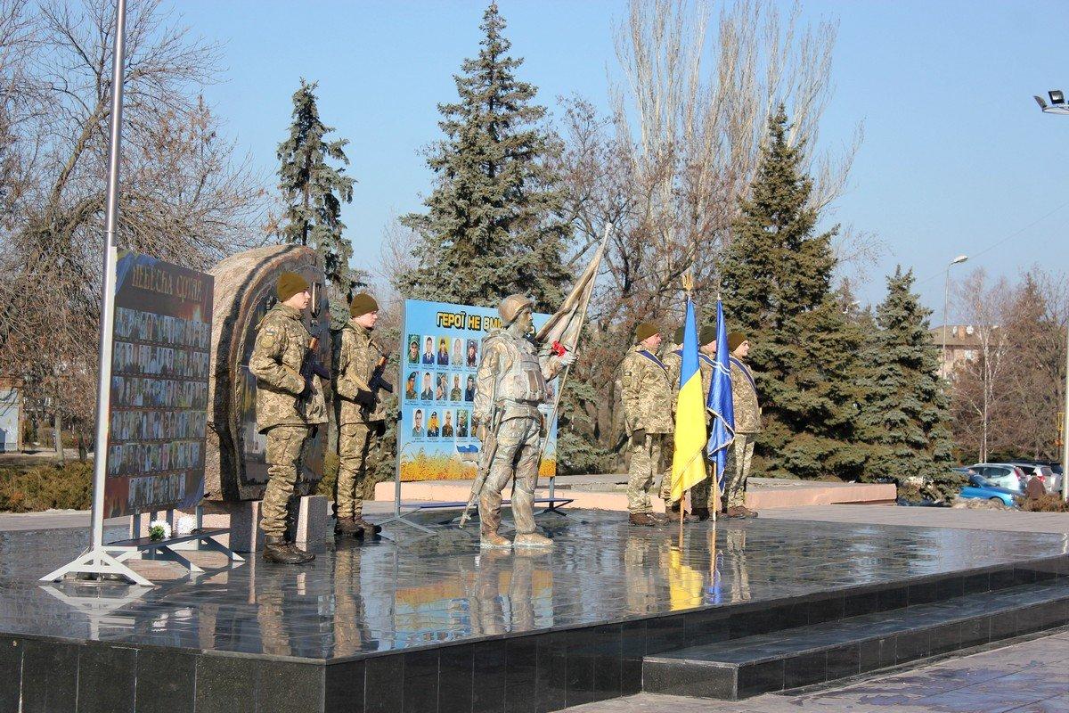 20 февраля у мемориала «Защитник Украина»почтили память героев Небесной Сотни