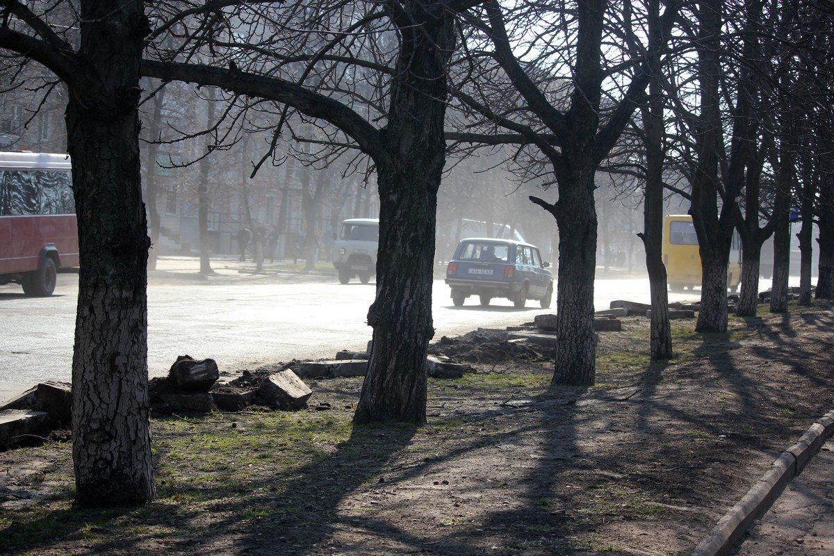 Около парка Победы