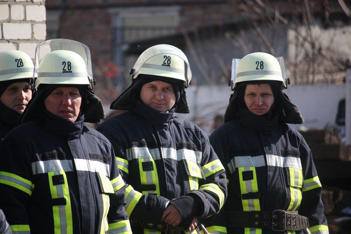 Никопольские спасатели - сильные и смелых духом