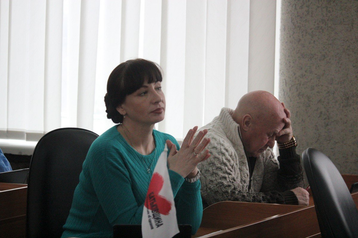 Юлия Мотриченко и Анатолий Доброродний