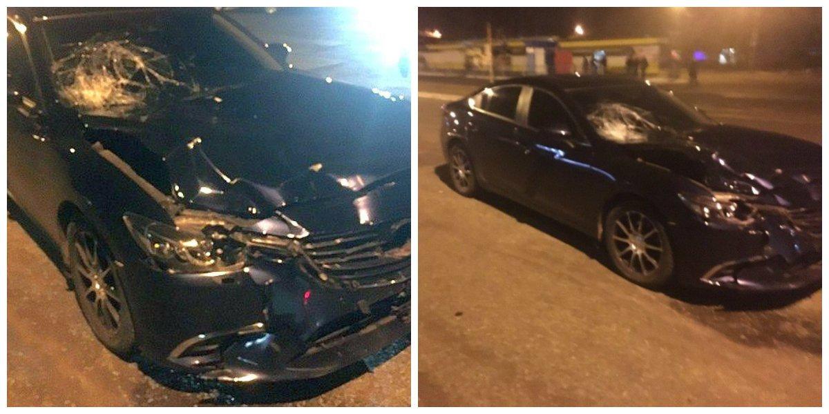 Руслан Тапаев бросил машину на месте ДТП и сбежал