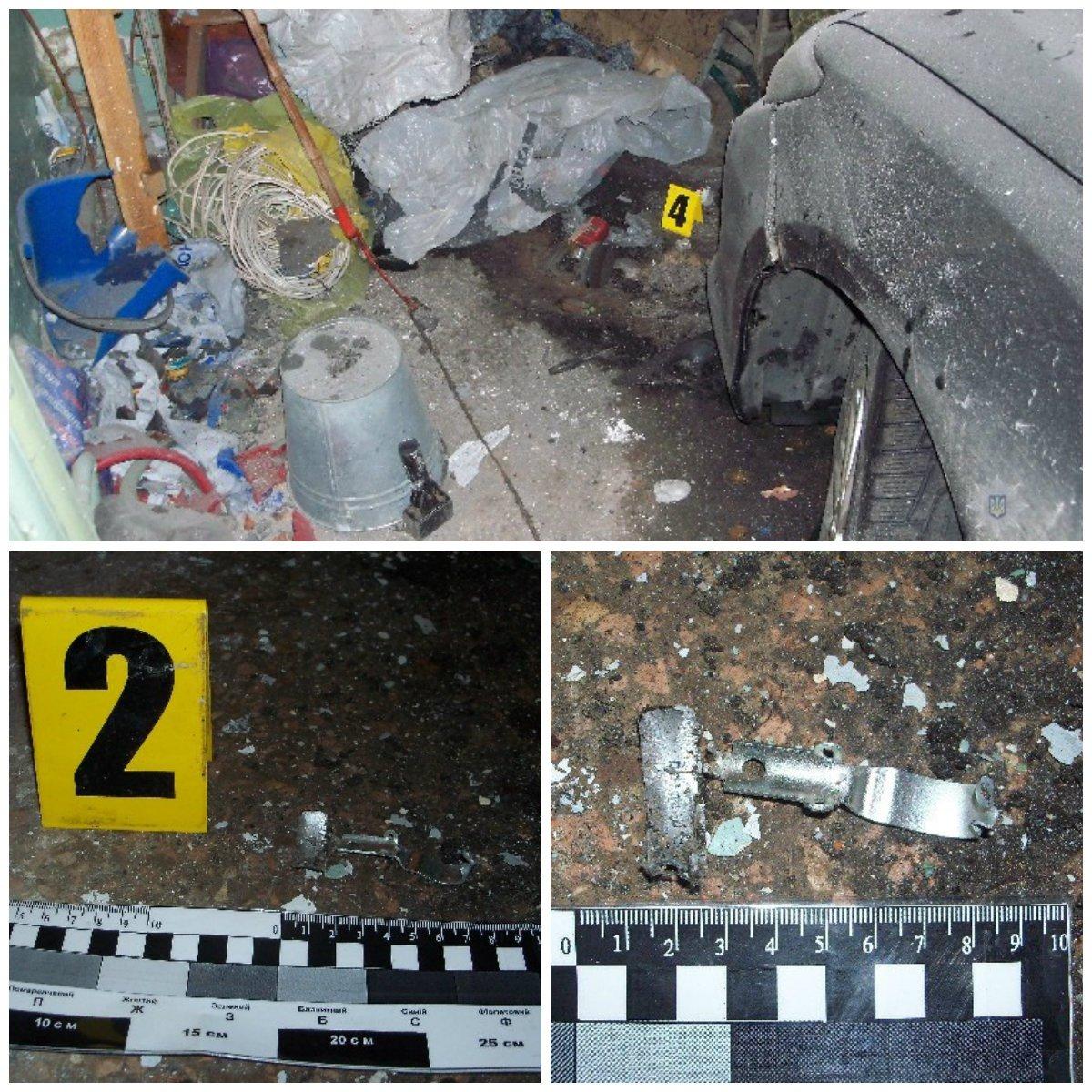 Взрыв в Никополе: в депутата бросили две гранаты