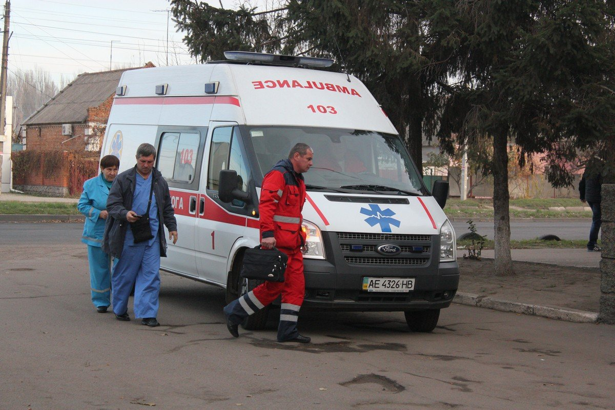 Скорая помощь в Никополе