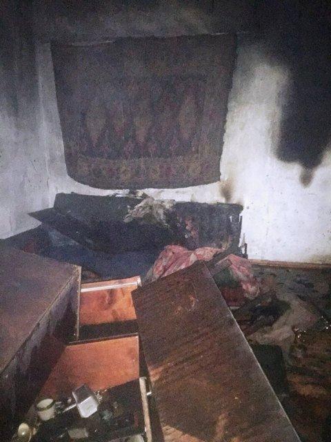 Во время пожара было найдено тело 59-летнего мужчины