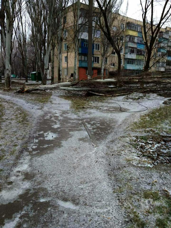 Аварийная ситуация произошла наШевченко, 194