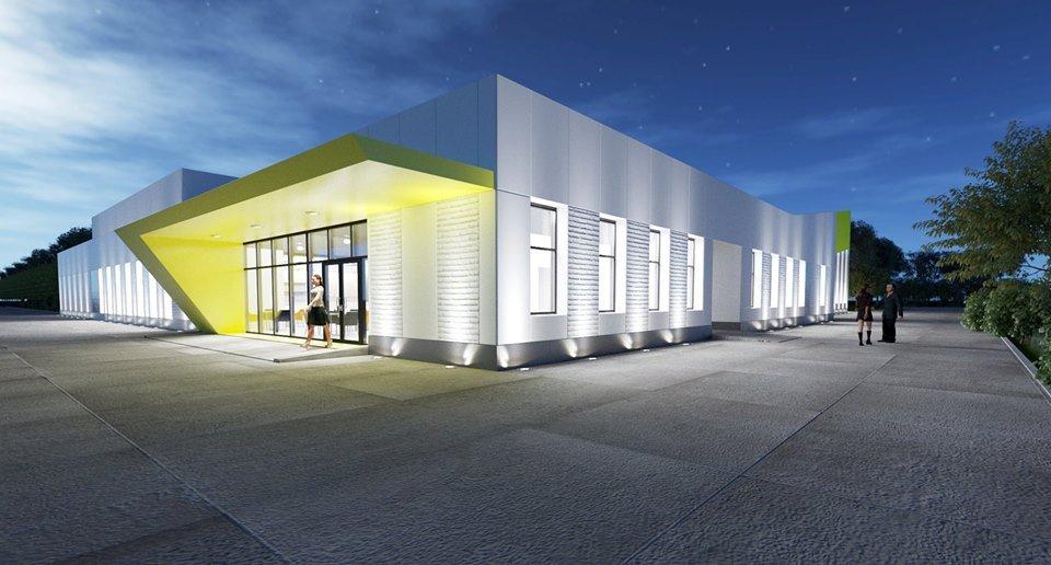 На первый этап строительства комплекса выделили около 13 миллионов гривен