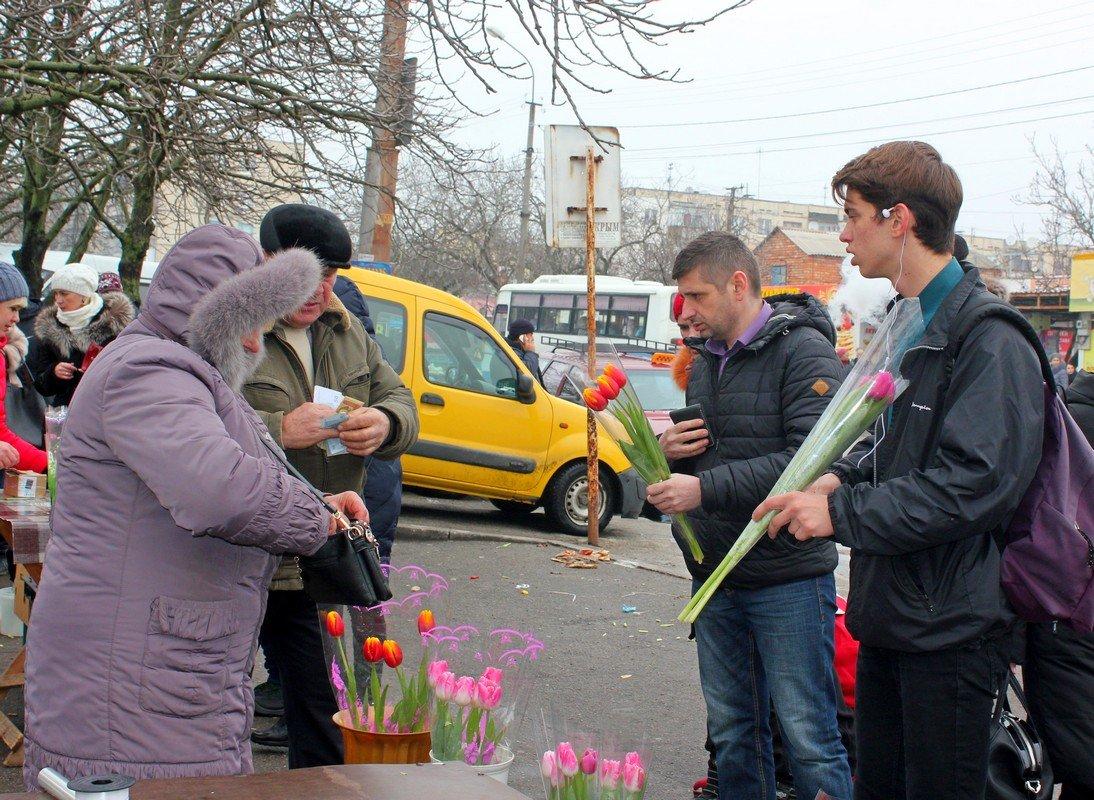 Самые популярные цветы - тюльпаны