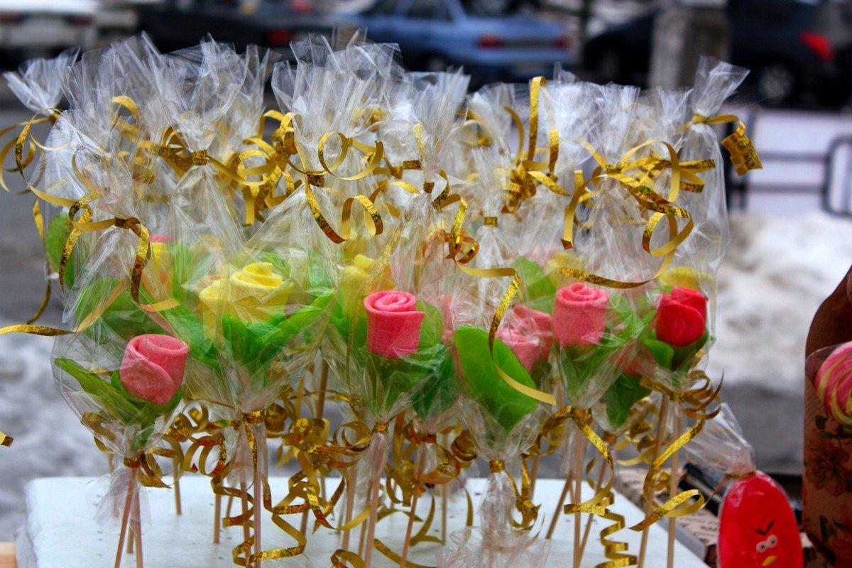 Сладкие тюльпаны для любимых