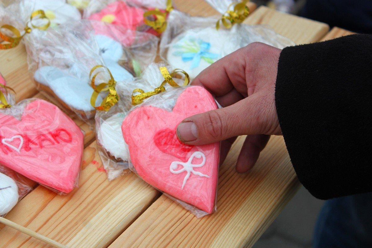 Съедобное сердце по доступной цене - 15 гривен