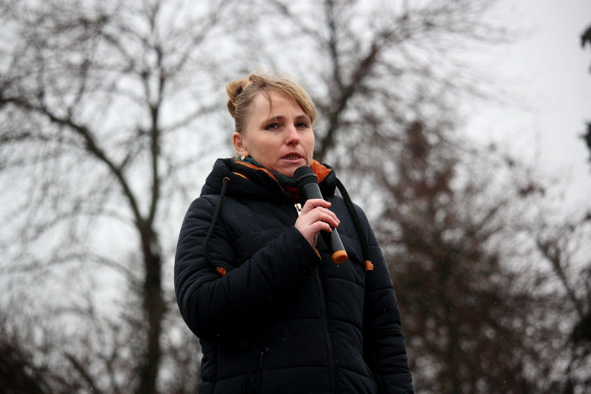 Представители волонтерского движения в Никополе