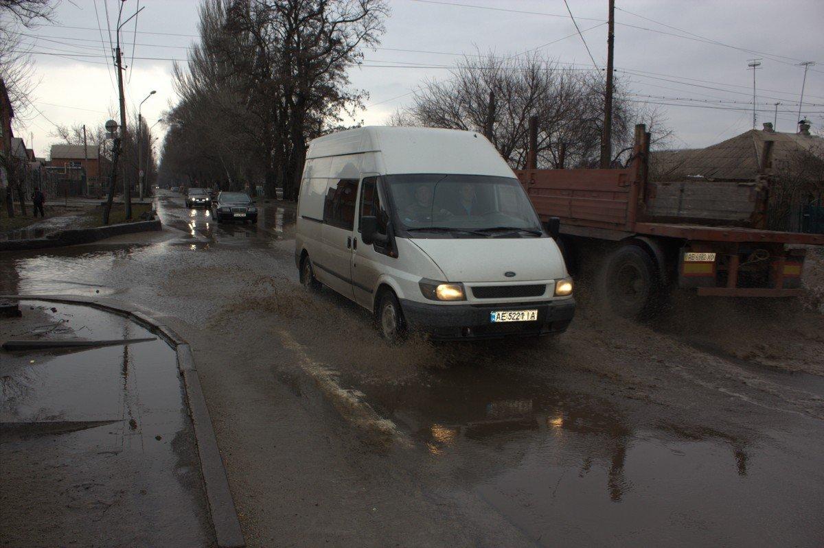 Улице Героев Чернобыля очень не хватает ливневки