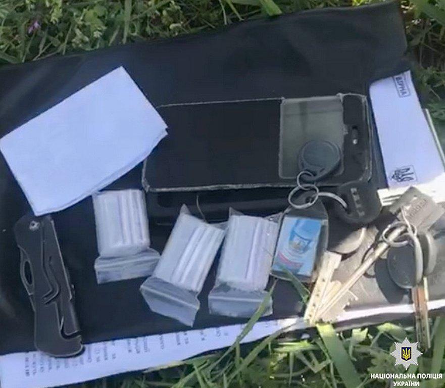 В Никополе полицейские задержали наркодилера