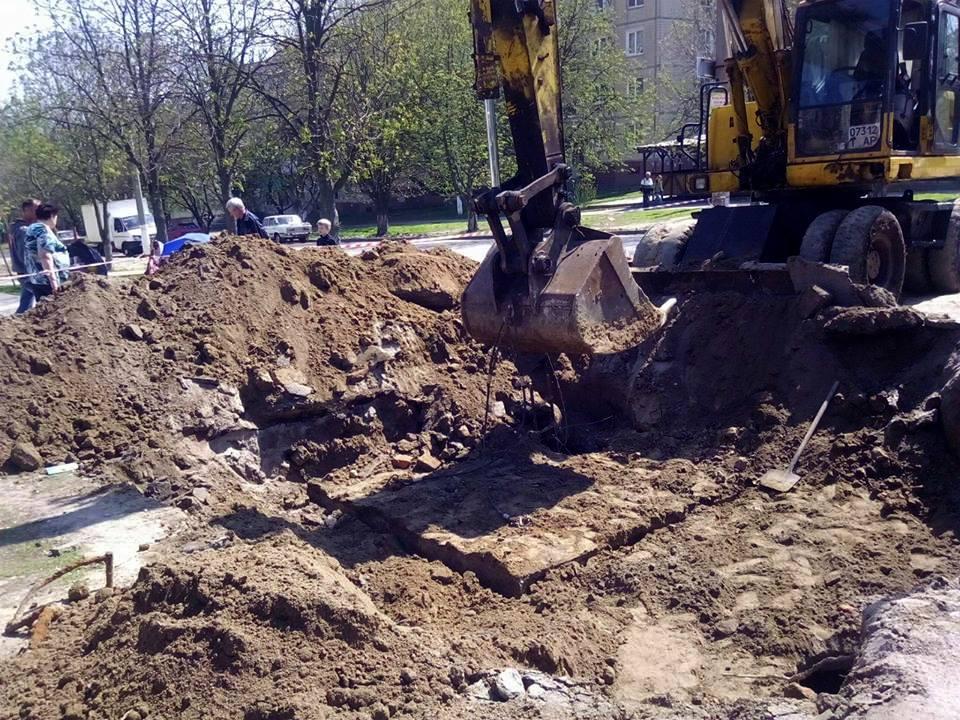Завершить земельные работы подрядчик планирует сегодня