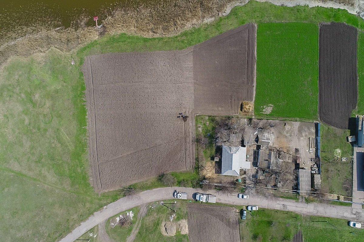Фото местности с высоты