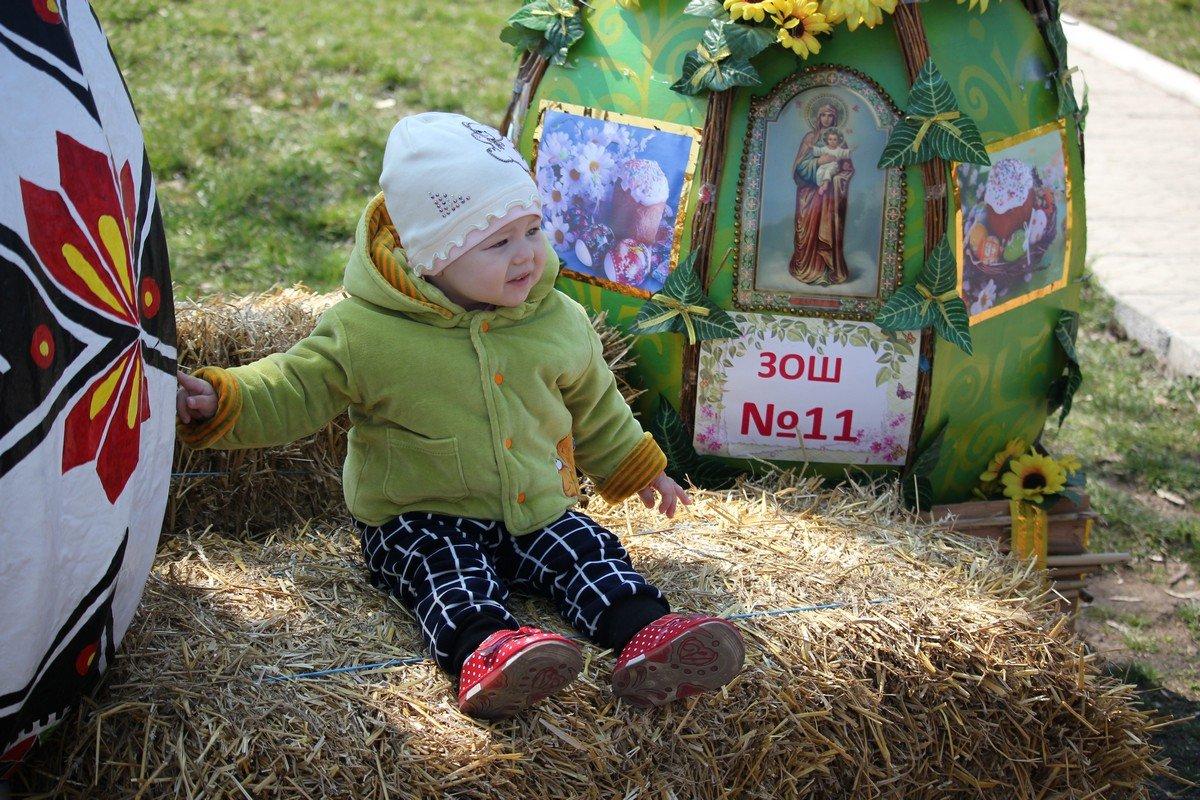 Фотозона для малышей