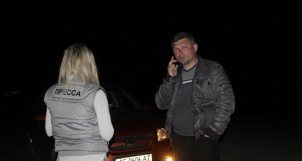 Начальник ритуальной службы Никополя Олег Шило