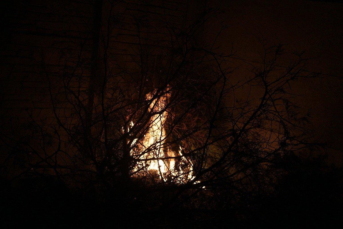 Возгорание началось примерно в 19:30