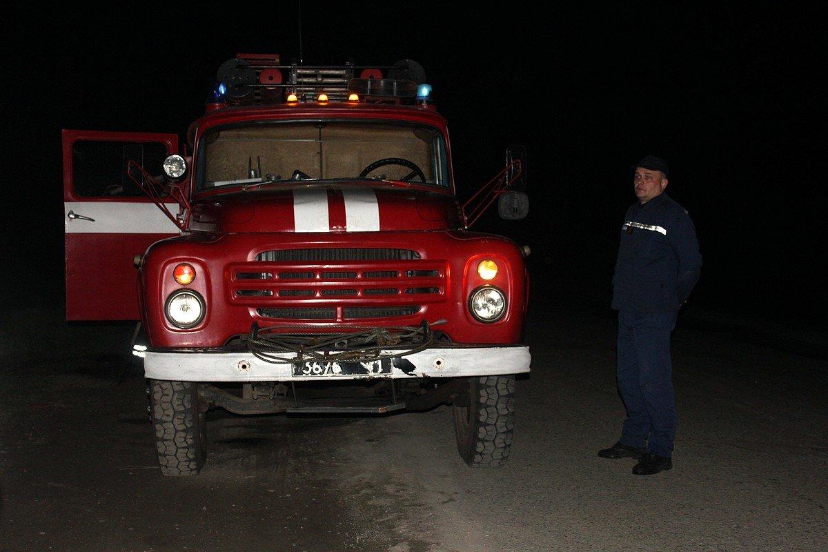 Пожарные подоспели вовремя