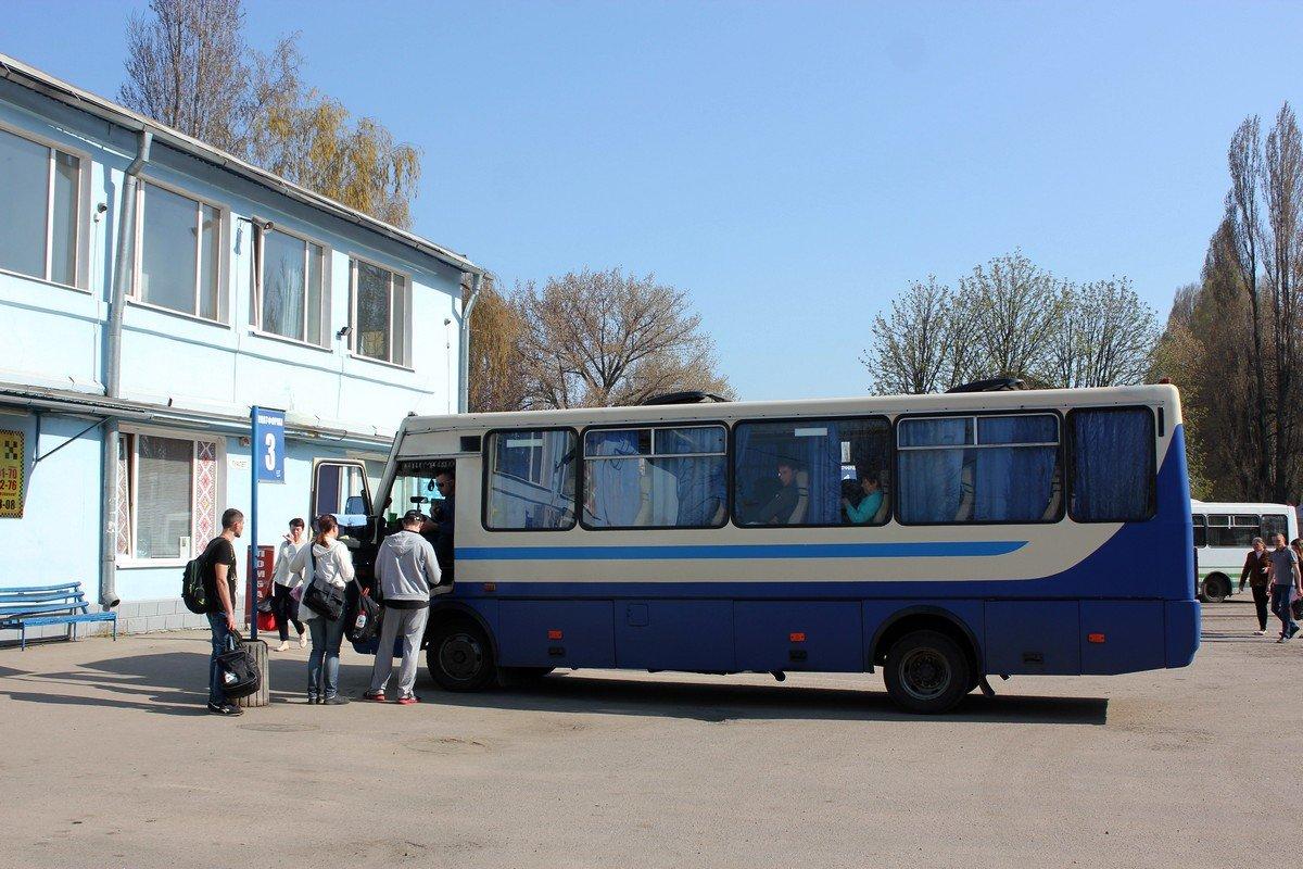 Из-за плохого состояния трассы Днепр-Никополь маршрутки могут остановить свое движение
