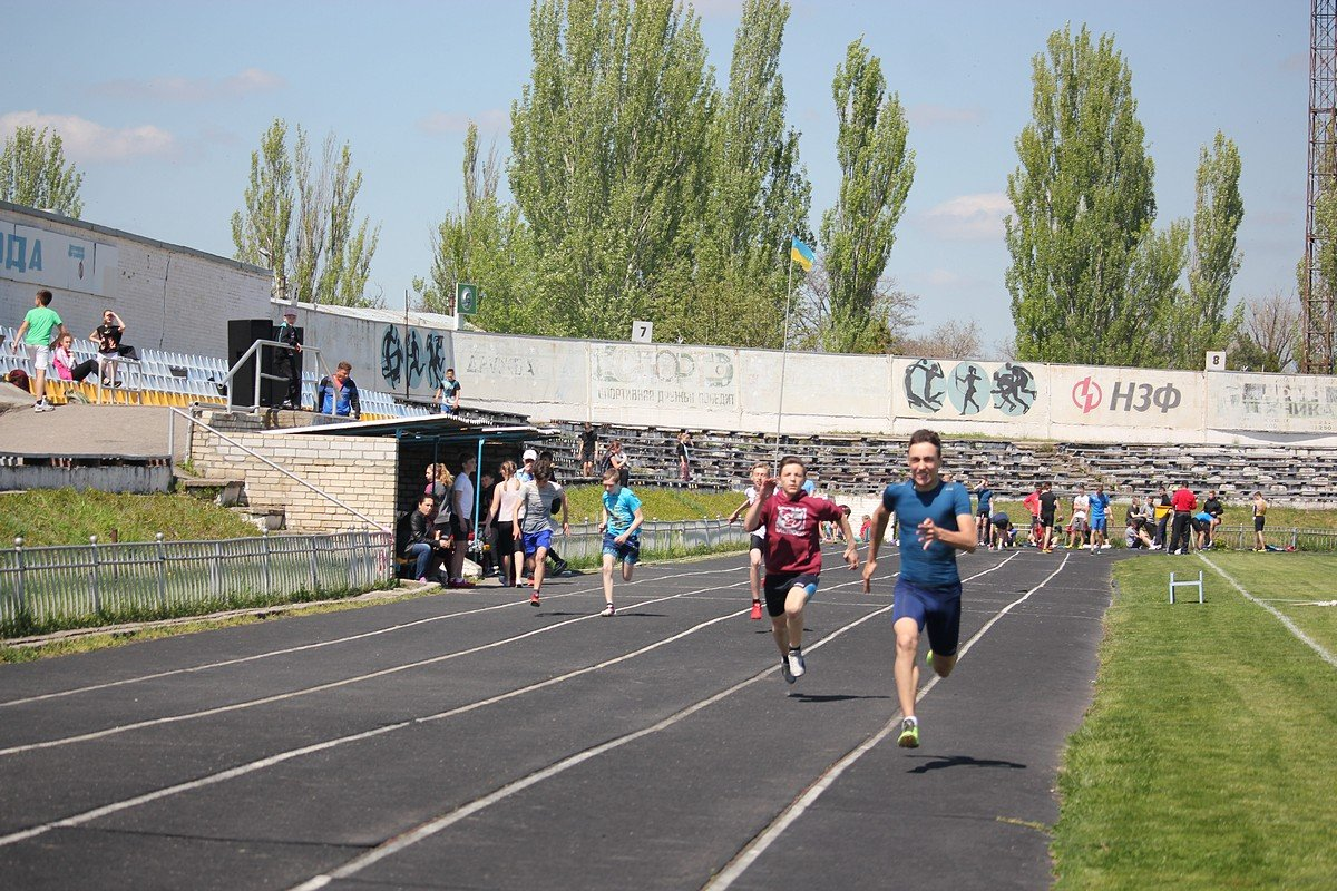 В Никополе проходит чемпионат по легкой атлетике