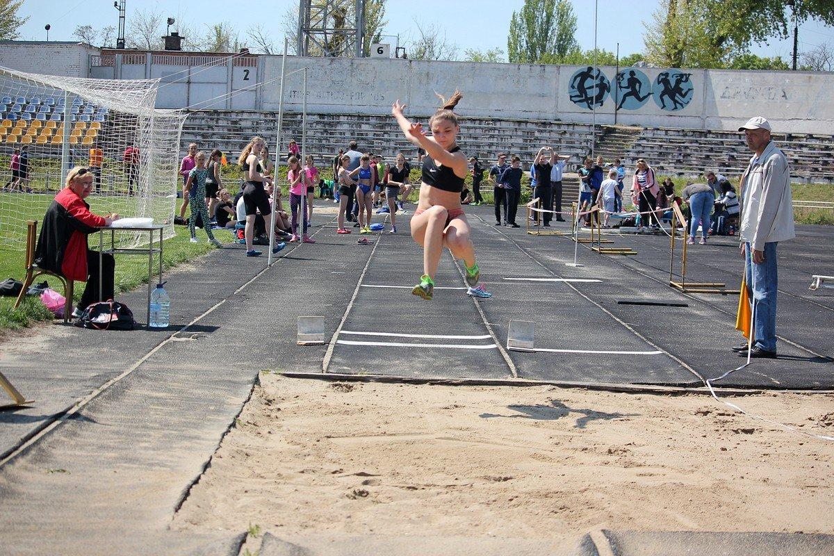 Ученица спортивной школы Никополя