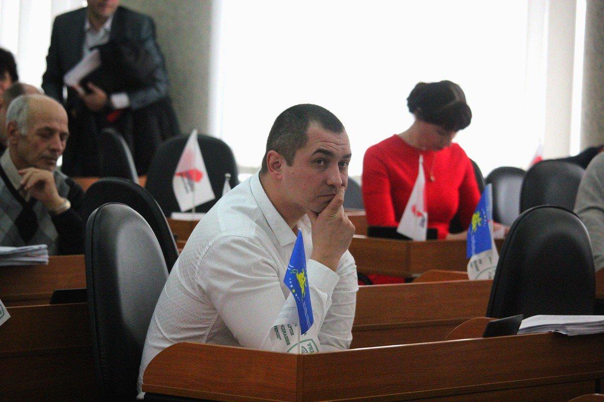 Депутат горсовета Максим Юхно