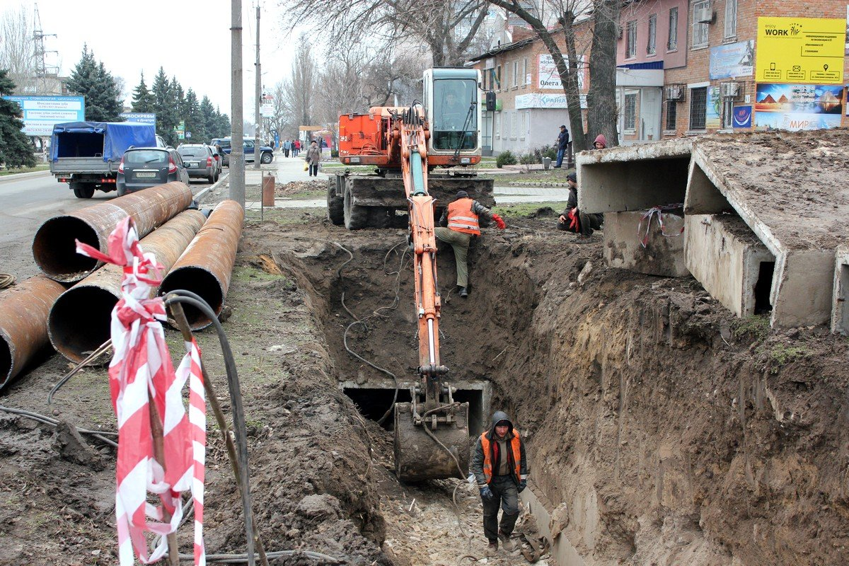 Подрядчики обещали благоустроить территорию после демонтажа труб