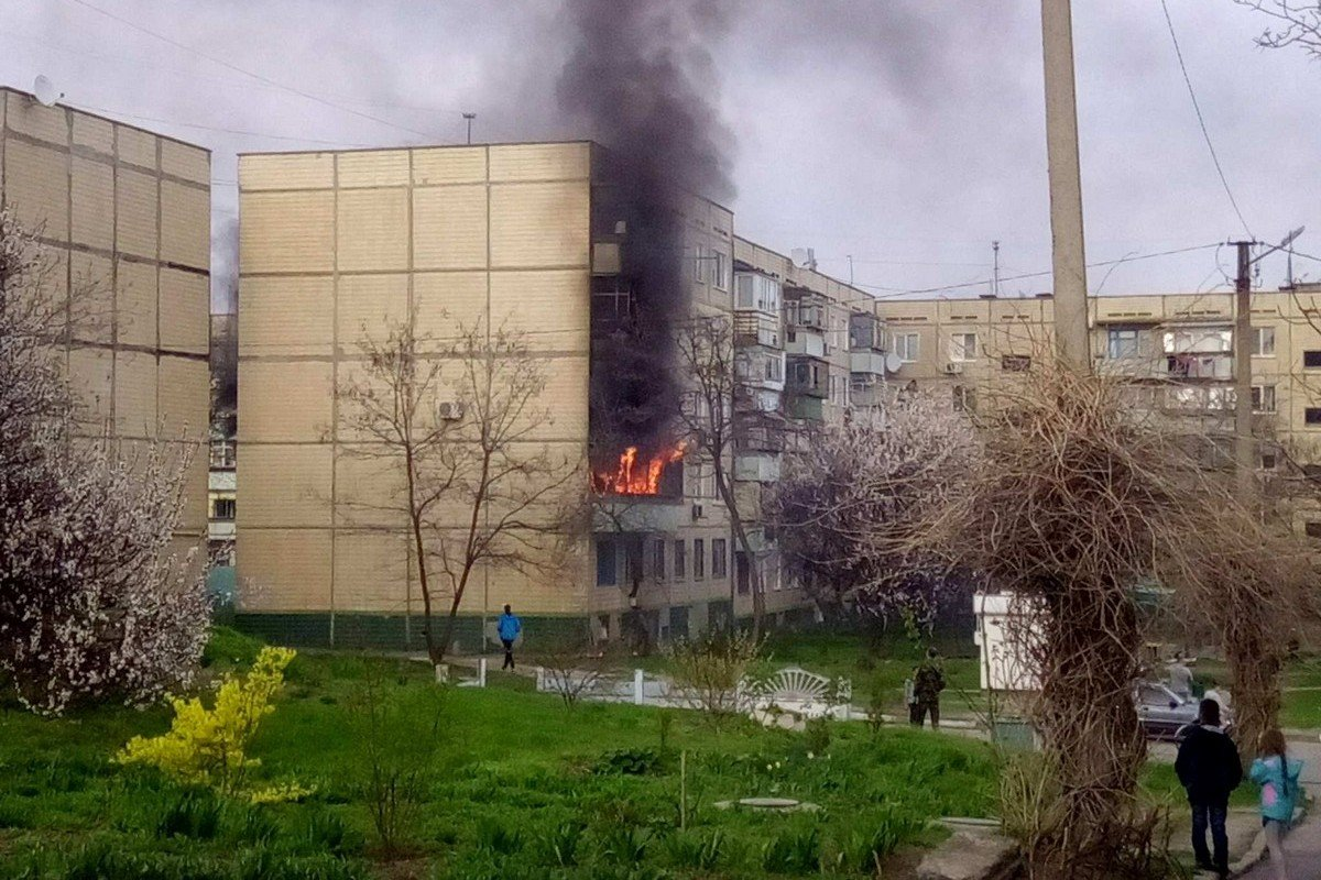 Сгорела 5-ти комнатная квартира