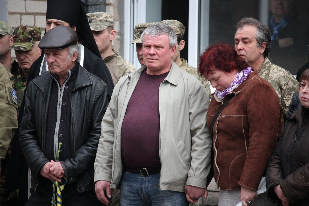 Отец погибшего Анатолия Бижко
