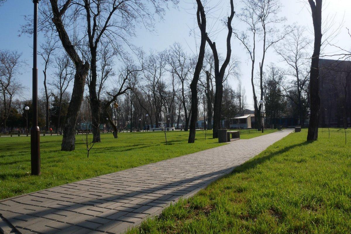 Возможно, в скором времени парки Никополя будут также хороши