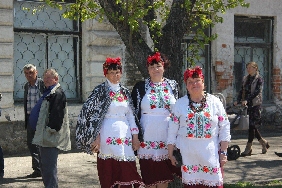 Румяные украинки