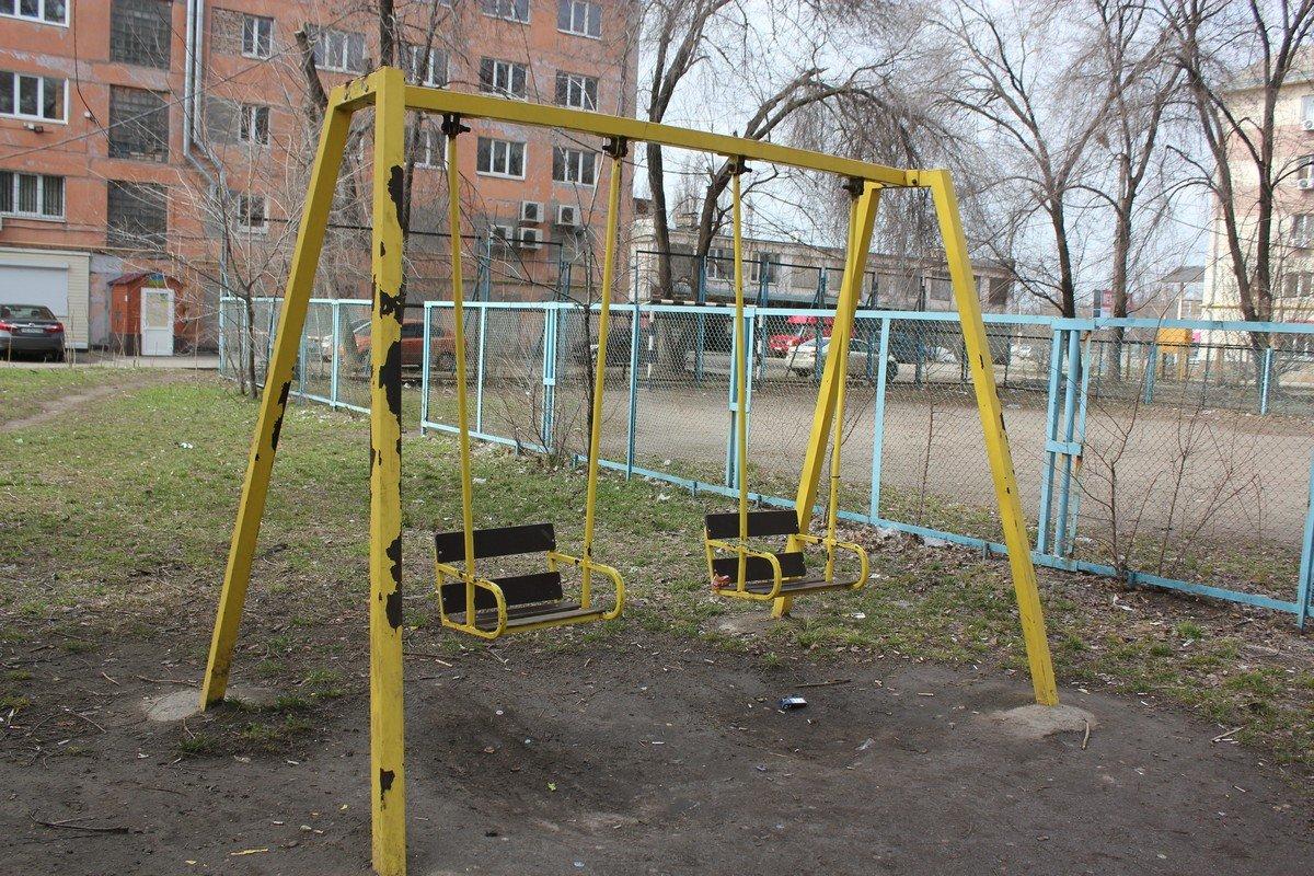 Детская площадка в районе автовокзала