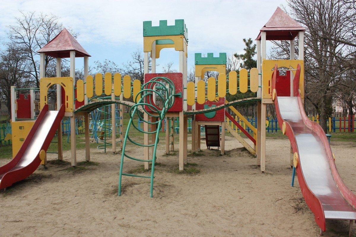 Площадка в парке Победы
