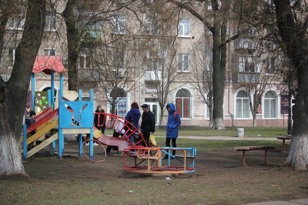 Площадка в старой части города