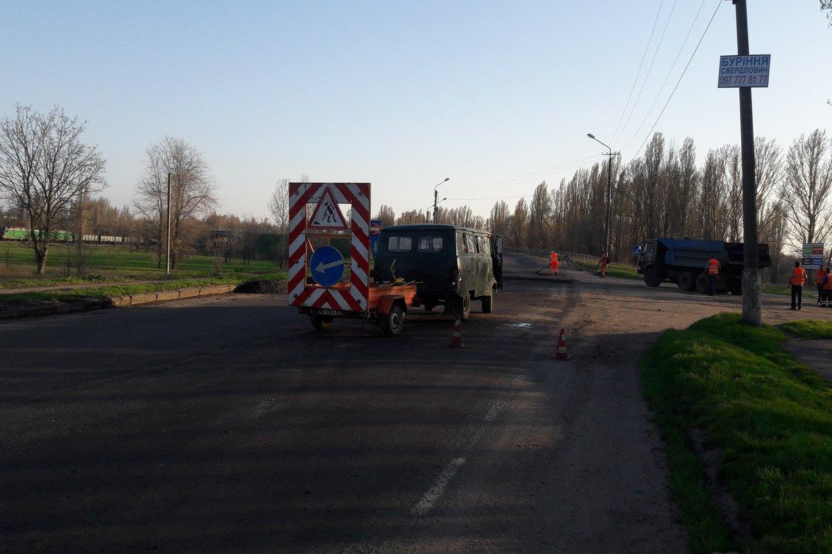 В планах отремонтировать участок дороги от Никополя до Марганца