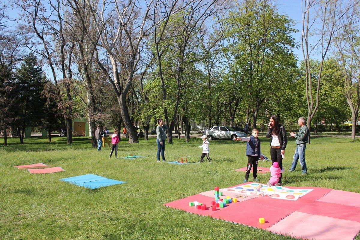 Игровая зона для малышей