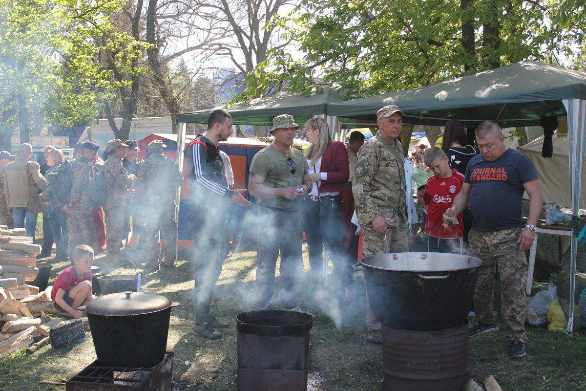 Процесс приготовления казацкой еды